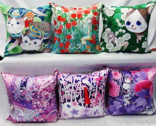 代客充棉,數位印花,熱轉印,熱昇華,數位紡織印花,數位印花抱枕,數位印花家飾, 數位印花布料代工